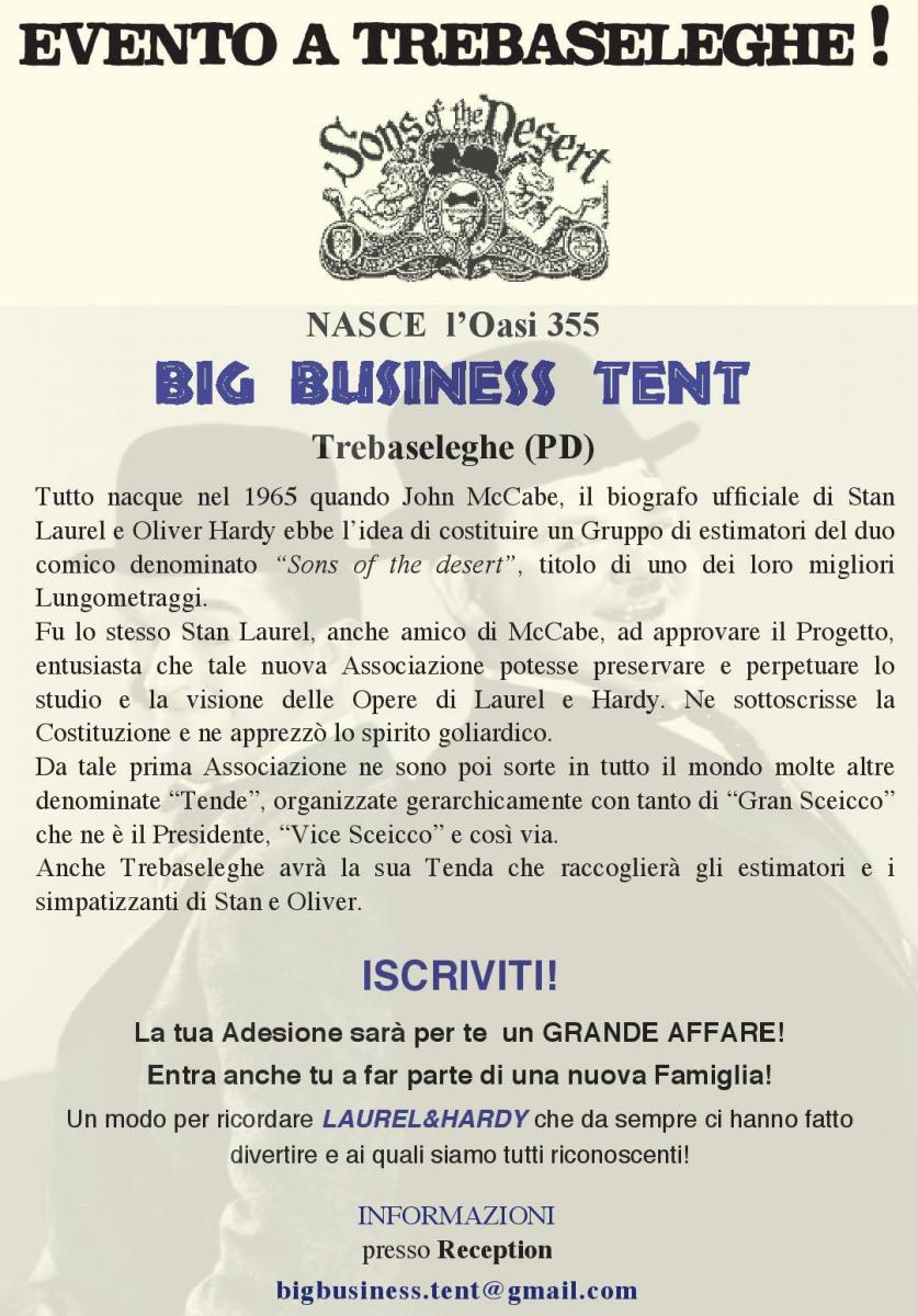 big business tent 355 Trebaseleghe