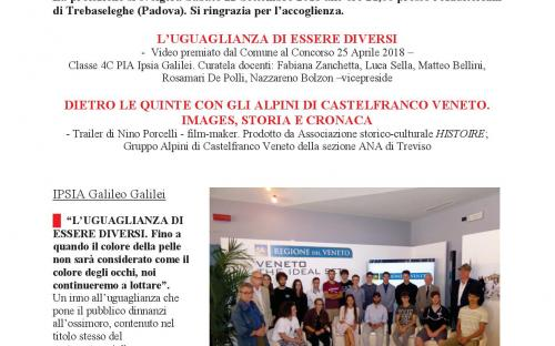 Comunicato stampa HISTOIRE e IPSIA Castelfranco - pagina 1