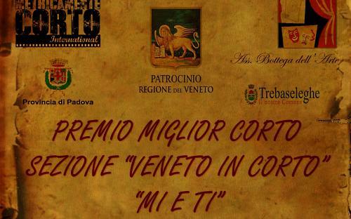 """MIGLIOR CORTO SEZIONE """"VENETO IN CORTO"""""""
